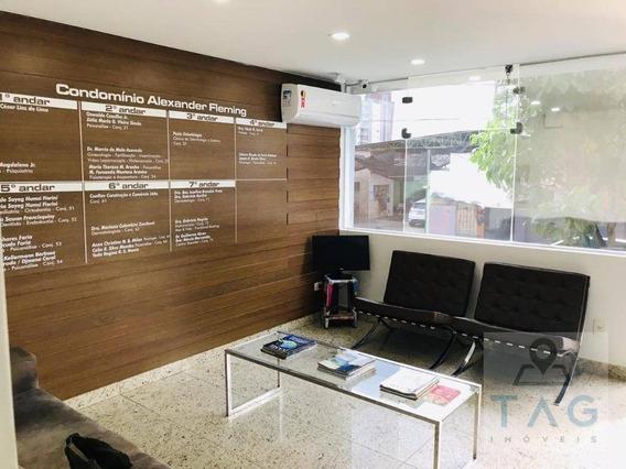 Sala/conjunto Para Aluguel E Venda Com 69 Metros Quadrados Em Cambuí - Campinas - Sp - Sa0077