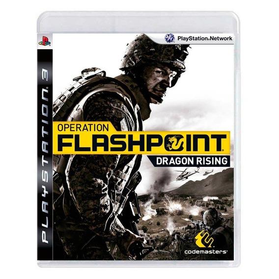 Operation Flashpoint Dragon Rising Ps3 Mídia Física
