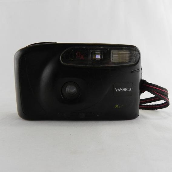 Câmera Analógica Yashica Vintage - Usada C/ Defeito