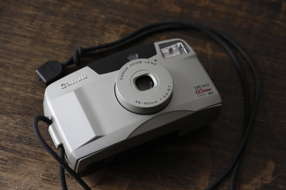 Canon Sure Shot 60 Zoom - Câmera Analógica