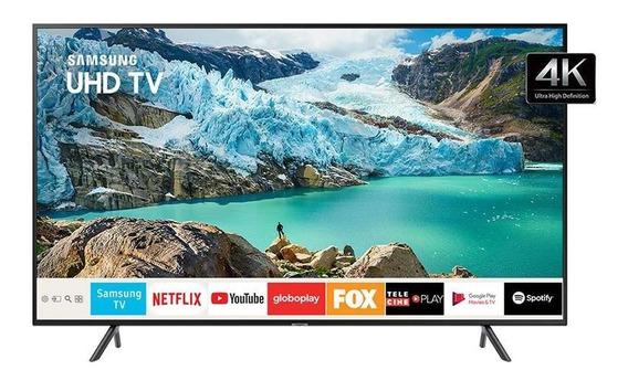 Smart Tv 49 Uhd 4k Visual Com Cabos Escondidos E Bluetooth