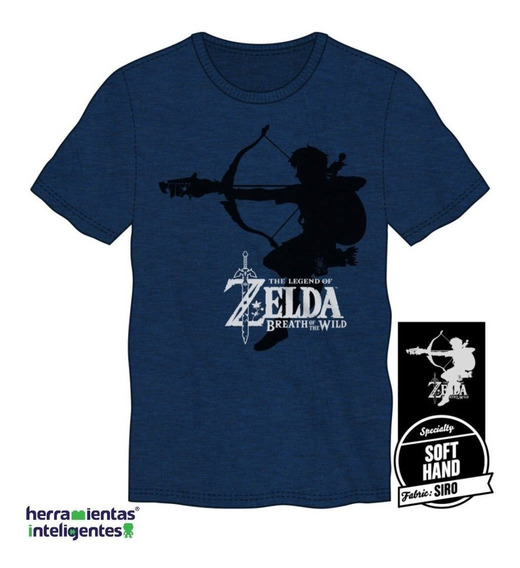 Men´s Zelda Siro Breath Of The Wild Playera Bioworld