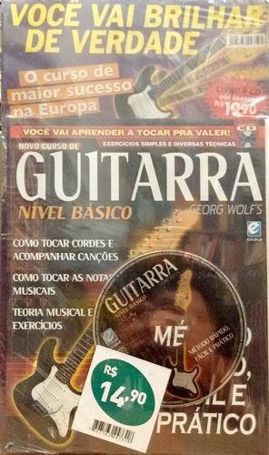 Novo Curso De Guitarra (nível Básico / C Wolf´s, Georg
