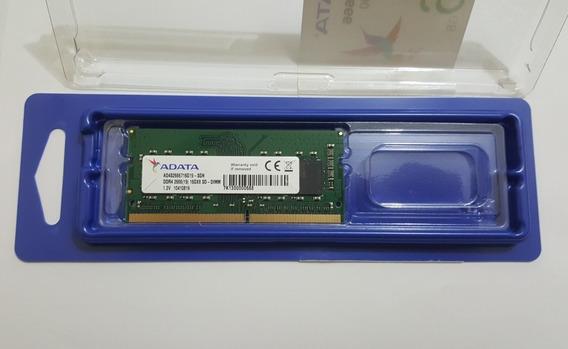Memoria Notebook 16gb 2666 Sodimm/note Adata Ad4s2666716g16