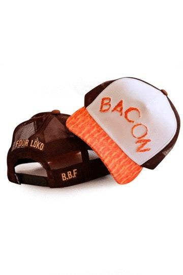 Boné Four Loko Trucker Bacon
