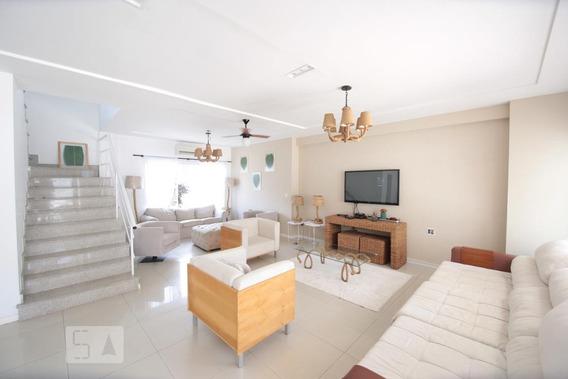 Casa Para Aluguel - Barra Da Tijuca - Marapendi, 5 Quartos, 450 - 893017089