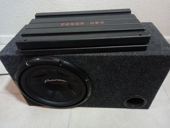 Modulo Power One / Sub Woofer Pioner 12