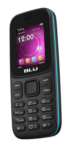 Celular Blu Z5 Dual Sim 32 Mb Preto 32 Mb Ram