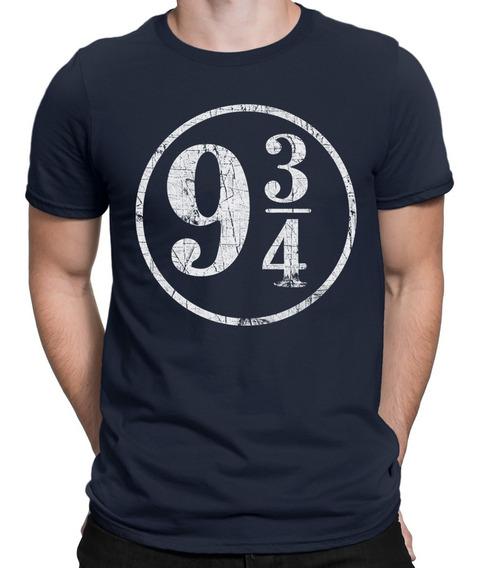 Camiseta Estação 9 3/4 Harry Potter Hogwarths Hermione Draco