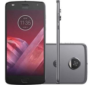 Smartphone Motorola Moto Z2 Play 64gb 12mp Platinum Vitrine