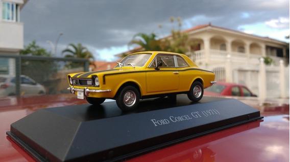 Miniatura Corcel Gt 1971 Carros Inesquecíveis Do Brasil