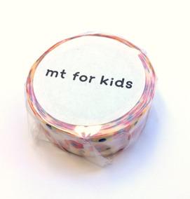 Washi Tape Marca Mt Kids: Made In Japan - Flores :) - Novo!