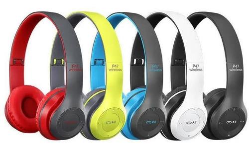 Imagem 1 de 5 de Fone De Ouvido Sem Fio Wireless 5.0 Headphone Dobrável Bluet