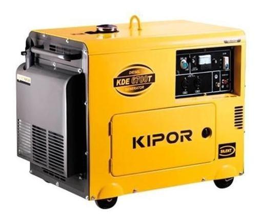 Generador Diesel Silencioso 5 Kva. Kipor (c/envío Stgo)