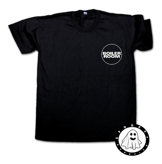 Remera Boiler Room Unisex Electronica Dj House, Techno