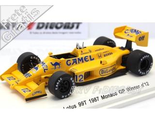 1/43 Rêve Lotus Honda Ayrton Senna F1 1987 Vitória Mônaco