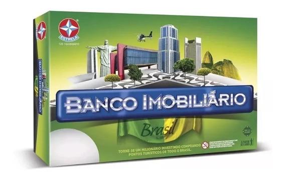 Jogo Banco Imobiliário Brasil - Estrela Novo Original