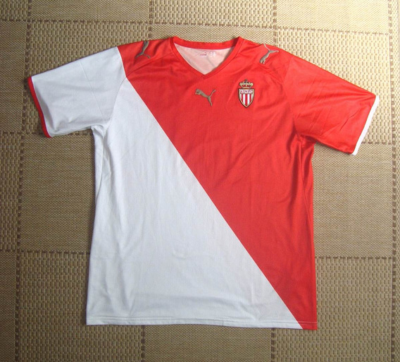 Camisa Original Mônaco 2008/2009 Home Sem Patrocínio