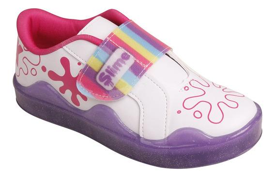 Tênis Infantil Feminino Kidy Slime 0651003