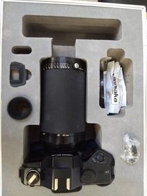 Câmera Analógica Yashica Com Maleta De Acessorios/ Sem Fonte
