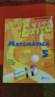 Libro Mi Guia Exito De Matematica 5 Grado Nuevo.
