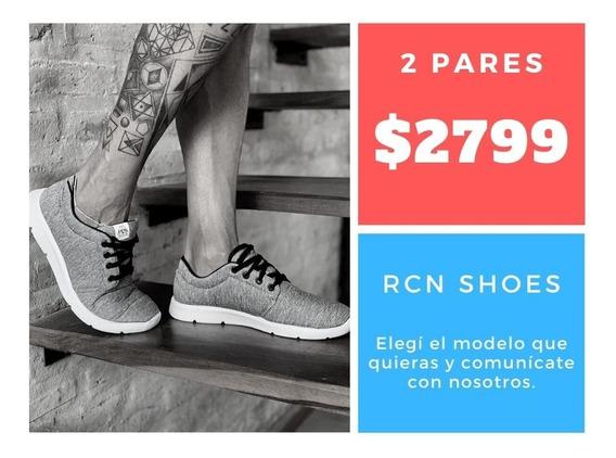 Oferta Zapatillas Marca Rcn - Envío Incluido!