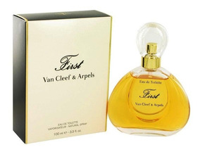 Perfume Feminino First By Van Cleef & Arpels 100ml Edt Novo!