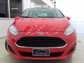 Ford Fiesta Kinetic Design Se 2015 5 Puertas Rojo Impecable!