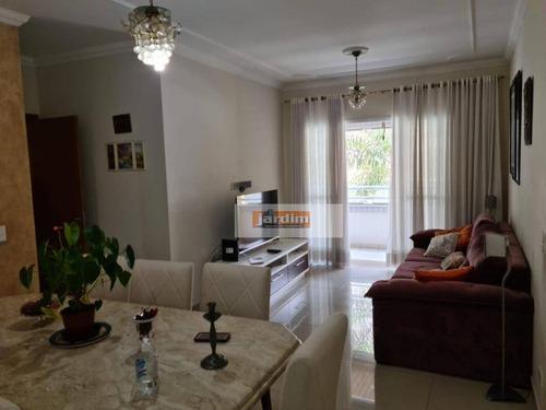 Apartamento Com 3 Dormitórios (1 Suíte) E 2 Vagas À Venda, 100 M² - Centro - São Bernardo Do Campo/sp - Ap7189