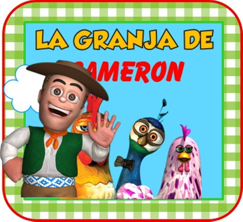 Kit Imprimible Para Tu Fiesta De Granja De Zenon