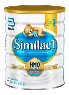 Pack 2 Similac 1 Hmo, 900 Grs (0 A 6 Meses) - Envío Gratis
