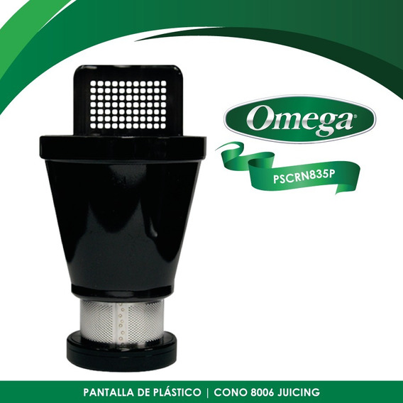 Refacción Pantalla Cono P/extractor Omega J8006/04 Pscrn835p