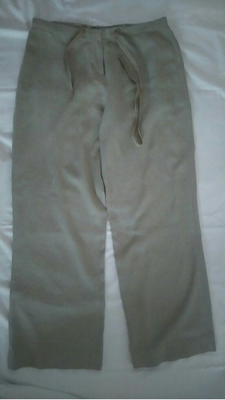 Pantalon De Lino Ver