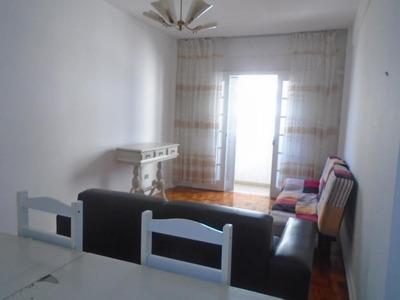 Apartamento Para Alugar, 35 M² Por R$ 1.699/mês - Pompéia - Santos/sp - Ap4238