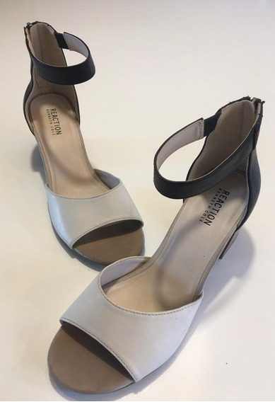 Sandalias De Taco - Reaction Kenneth Cole -talle 39 (8.5 Us)