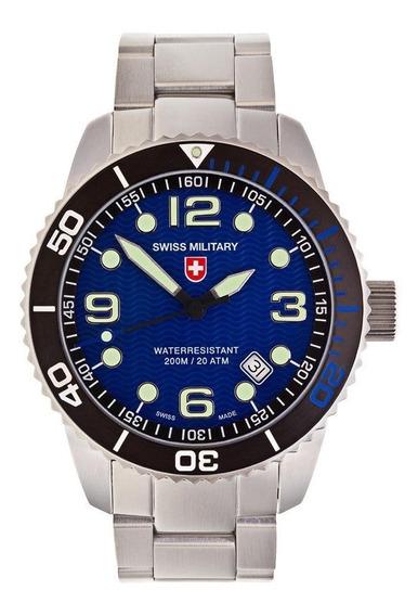 Relógio Swiss Army Marlon Scuba Quartz Blue (suíço)