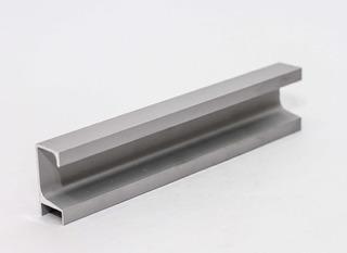 Perfil Manija Tirador C Aluminio Reforzado Puerta Cajón 3 Mt