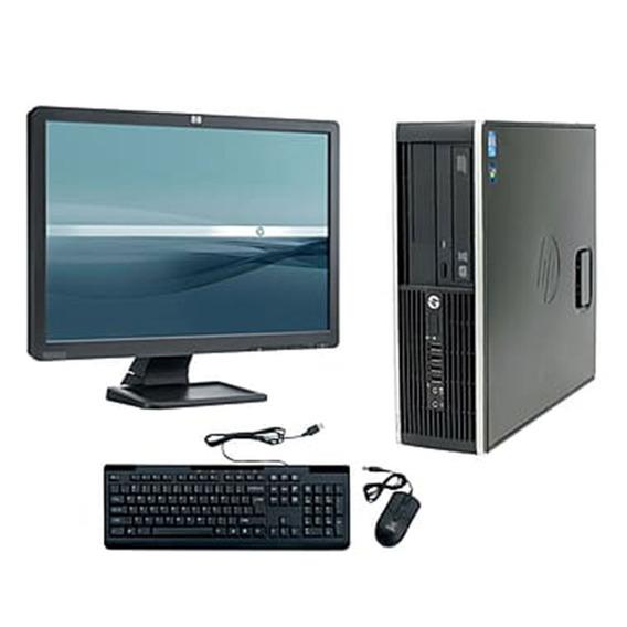 Cpu + Monitor Hp Compac Elite Core I7 4gb 500gb - Promoção