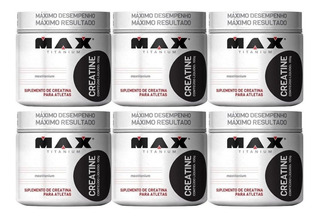 Super Combo 6x Creatina - Max Titanium - Atacado!