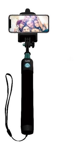 Extensor Bastão De Selfie Quanta Qtmnp2500 Bluetooth Até 6,6