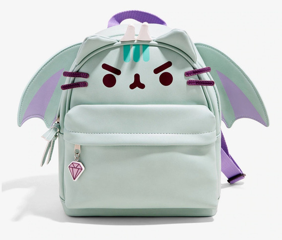 Mini Mochila Pusheen Dragon Kitty Gatito Original Hottopic