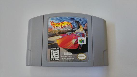 Hot Wheels Turbo Racing N64 Original