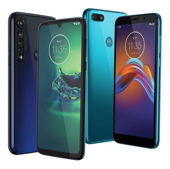 Combo Celulares Motorola Moto G8 Plus + Moto E6 Play