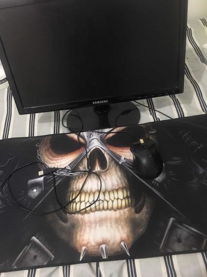 Monitor De Computador , Mousepad Gamer Speed E Mouse Gamer