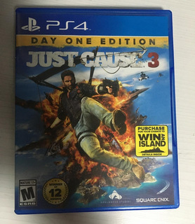 Just Cause 3 Day One Edition Ps4 Usado En Perfecto Estado!