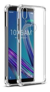 Capa Anti Shock Asus Zenfone Max Pro M1 + Pelicula De Vidro