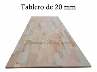Tablon Placa Tablero Madera Maciza Multiples Usos 20mm