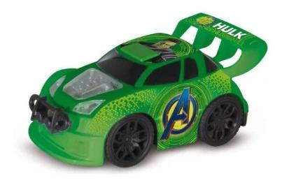 Carro Com Controle Hulk 7 Funções 17cm Mimo