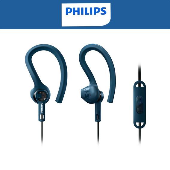 Fone Philips Shq1405 Azul Para Academiaoriginal Com Nf
