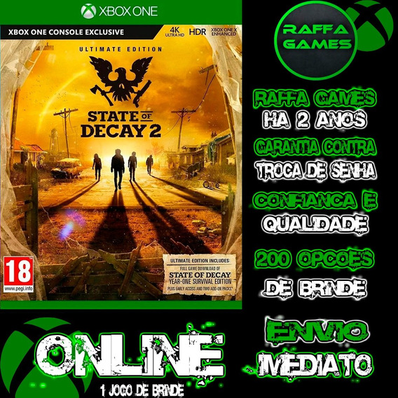 State Of Decay 2 Supreme Edition Xbox One Online + Brinde